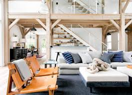 Barn Style Interior Design North Haven Chic Barn Style Residence By Timothy Godbold