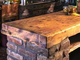 Kitchen Island Table Design Ideas Reclaimed Wood Kitchen Island Design Ideas Kitchen U0026 Bath Ideas