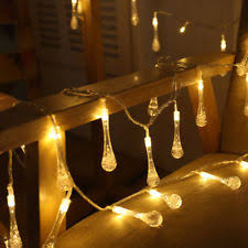 30x garden flower warm white led hanging string lights bedroom