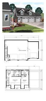 detached garage with apartment plans garage apartment plan 30031 total living area 687 sq ft 1