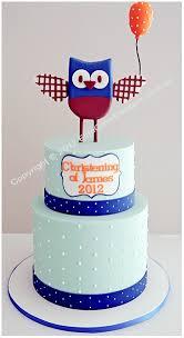 baby owl christening cake christening cakes sydney christening