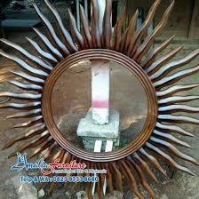 Tempat Jual Cermin Hias Di Jakarta cermin hias matahari model klasik harga murah amalia furniture jepara