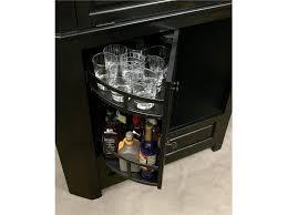 howard miller cornerstone estates corner bar cabinet 695082