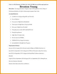 Resume For A Summer Job Sample Resume For A College Student Resume For College Student