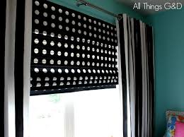 How To Make Window Blinds - how to make diy roman shades for wide windows using mini blinds