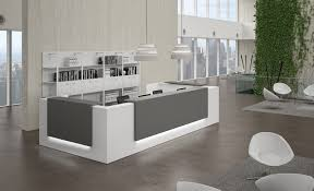 minimalist desks inspiring modern reception desk design for your office