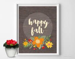 fall wall etsy