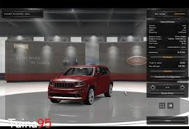 srt8 jeep modified jeep grand cherokee srt8 1 0 car american truck simulator mod