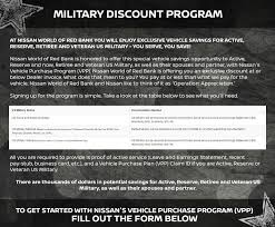 nissan finance quick pay military program red bank nissan