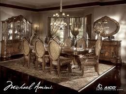 Aico Furniture Dining Room Sets Excelsior Dining Set Aico Furniture