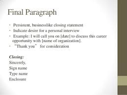 Resume Closing Statement Great Cover Letter Opening Lines Cover Letter Closing Great Cover