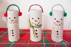 thanksgiving toilet paper roll crafts diy toilet paper roll snowmen