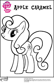 my little pony apple bloom coloring pages getcoloringpages com