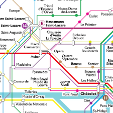 Paris Metro Map by Paris Metro Poster U2014 Zak Lynn Portfolio