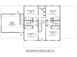 large family floor plans house plan 3120 c pendleton second floor traditional brick
