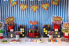 superman party decoration ideas home interior design simple