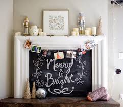 14 creative ideas for decorating a non working fireplace brit co this stylish fireplace is not only super practical for your holiday decor but it would also be