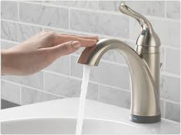 Touch Activated Kitchen Faucets by Delta Touch Faucet Sinks And Faucets Decoration