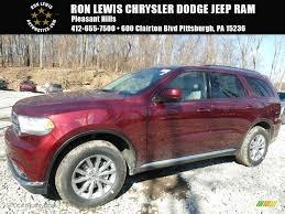 jeep durango 2016 2016 velvet red pearl dodge durango sxt 111130955 gtcarlot com