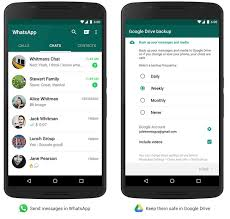 whatsapp for android gaining chat history backup google drive
