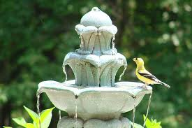 all about bird bath fountains