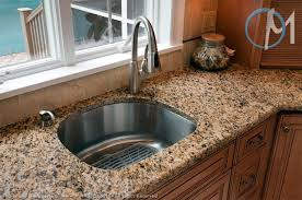 exellent kitchen sinks for granite countertops modern ideas cream