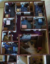 Ponderosa Floor Plan 1 48 Scale Ponderosa Ranch House From Bonanza Openrange
