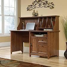 Sauder White Desk With Hutch Amazon Com Sauder Palladia Computer Desk With Hutch In Vintage