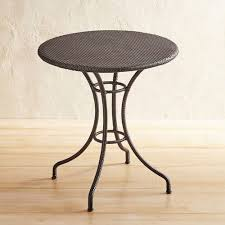 Pier One Bistro Table Mocha Woven 28