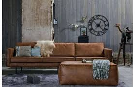canap en cuir marron canape cuir marron canapac cuir marron vintage 3 places lancaster