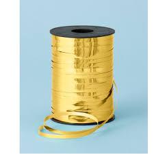 metallic gold ribbon metallic gold ribbon for balloons 250m x 5mm