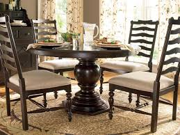 72 pedestal dining table paula deen home tobacco 72 x 54 round pedestal dining table round