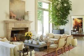 michael smith interiors michael s smith s la party pad concrete coffee table armchair