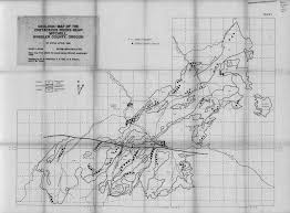 Map Of Oregon State University by Stratigraphy Petrology And Provenance Of The Cretaceous Gable