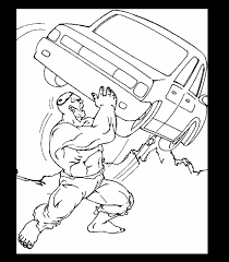 incredible hulk coloring pages learn coloring