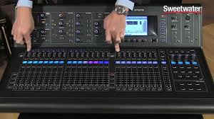 Studio Mixer Desk by Midas M32 Digital Mix Console Review Sweetwater Sound Youtube