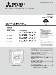 sezkd09na4 wiring diagram sez kd18na4 service manual