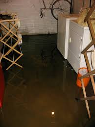 how to fix a wet basement floor