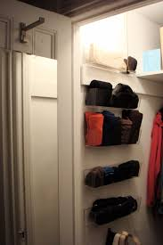deep narrow coat closet solutions