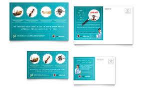 pest control services brochure template design
