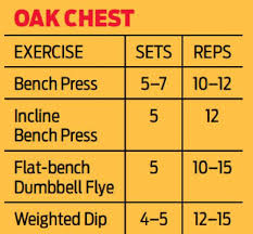 Bench Press Workout Routine Chart The Best 13 Chest Workout Routines For Mass Strength U0026 Definition