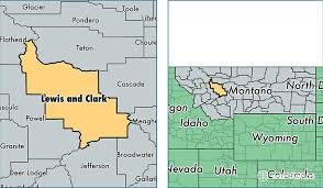 clark map lewis and clark county montana map of lewis and clark county