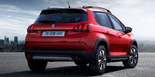 peugeot 2008 crossover 2017 peugeot 2008 facelift unveiled photos 1 of 6