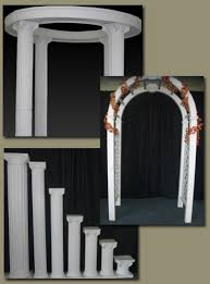 wedding arches and columns arches columns milner rental center