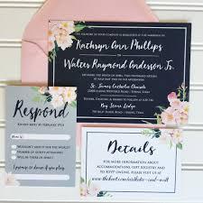 wedding invitations navy navy and blush wedding invitations kawaiitheo
