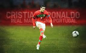 Portugal Flag Hd Cristiano Ronaldo Cr7 Football Player Real Madrid Jersey King