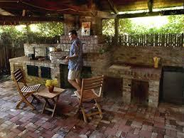 Backyard Kitchen Design Ideas Outdoor Kitchen On Budget With Concept Gallery Oepsym