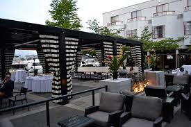 Italian Patio Design Italian Restaurant Design Ideas With Outdoor Patio Using Pit