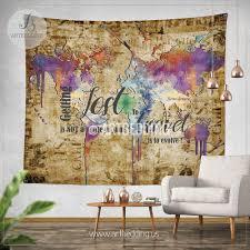 Ikea World Map Crafty World Map Wall Hanging Fabric Australia Uk Ikea Nz Tapestry