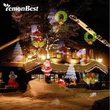Projector Lights For Christmas by 12 Patterns 8w Mery Christmas Lights Outdoor Led Snowflake